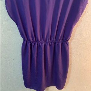 Soprano Dresses - Purple Knee length dress.